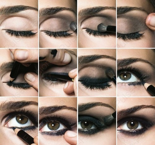 мейкап smoky eyes