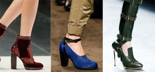Стильная и модная обувь осень-зима 2018