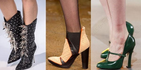 Стильная и модная обувь осень-зима 2019