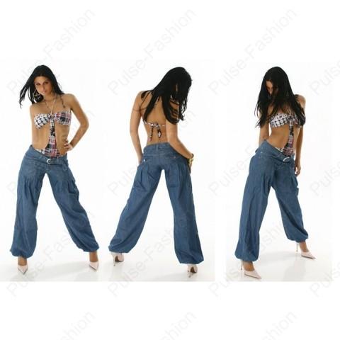 Модные и стильные джинсы-шаровары лето 2015
