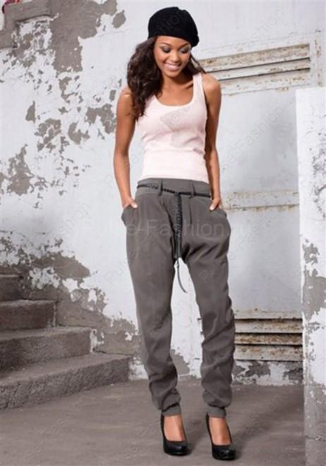 Модные и стильные джинсы-шаровары лето 2017