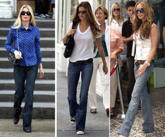 Трендовые традиционные джинсы лето 2017