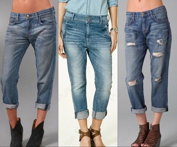 Трендовые укороченные джинсы лето 2019