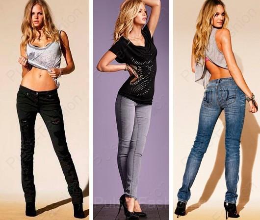 Трендовые узенькие джинсы лето 2019