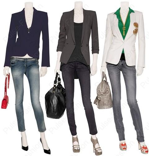 Трендовые узенькие джинсы лето 2017