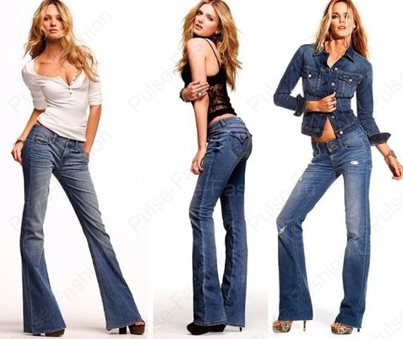 Модные и стильные джинсы клеш лето 2017