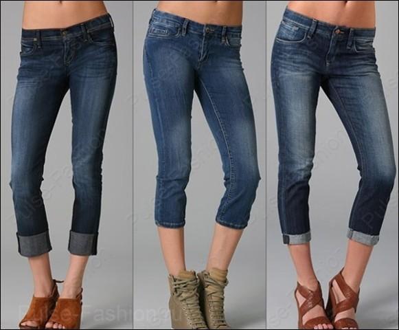 Трендовые укороченные джинсы лето 2017