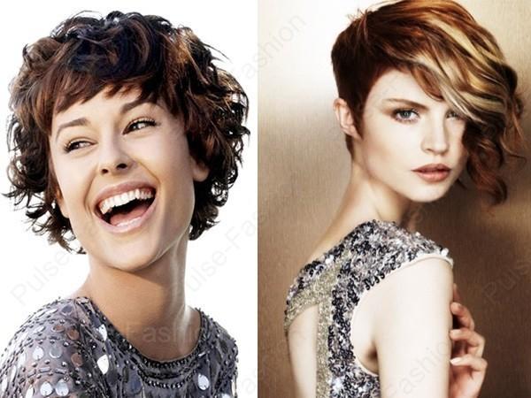 Короткие прически фото женские для вьющихся волос
