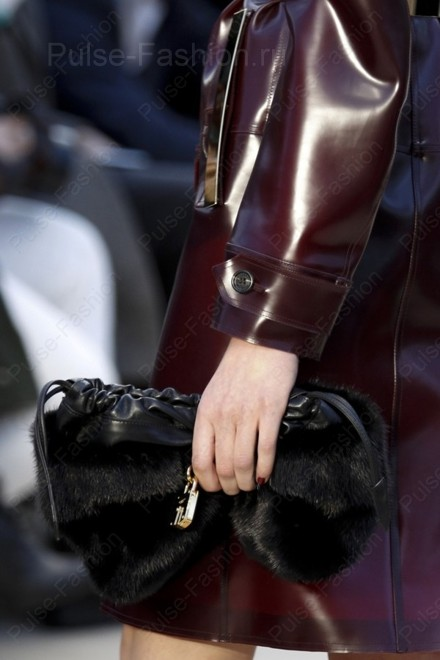 меховые сумки осень-зима 2019