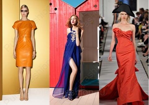 Трендовые платьица 2015