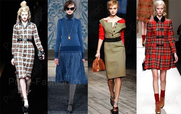 Модные и стильные платья осень-зима 2018
