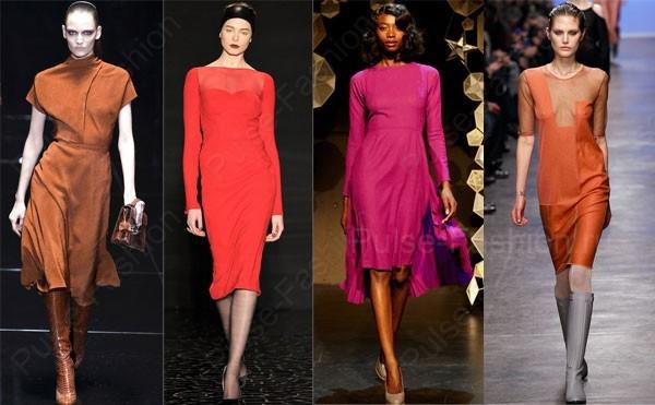 Модные и стильные платья осень-зима 2019