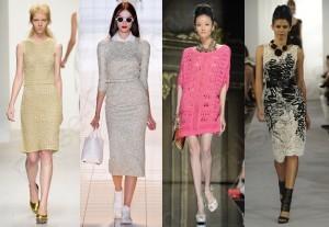 Элегантное платьице весна-лето 2020