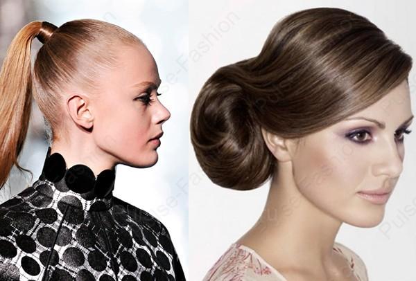 прически на Новый год на длинноватые волосы 2015