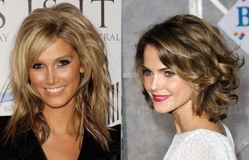 прически на Новый год на средние волосы 2015