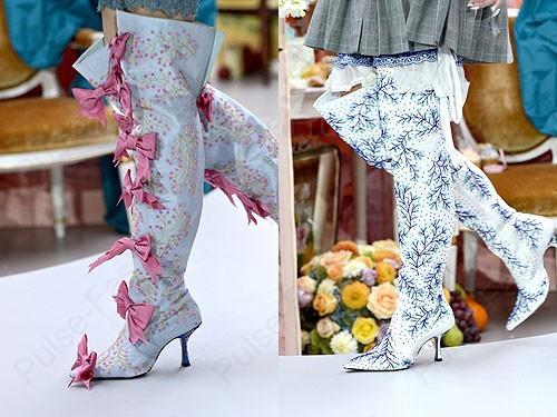 Модные и стильные сапоги от бренда Meadham Kirchhoff сезон весна-лето 2020