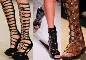 Модные и стильные сапоги весна 2020