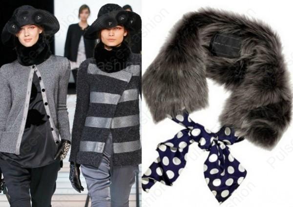 дамские шарфы осень-зима 2015