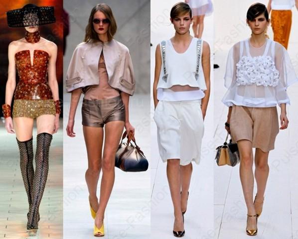 Стильные и модные шорты 2019