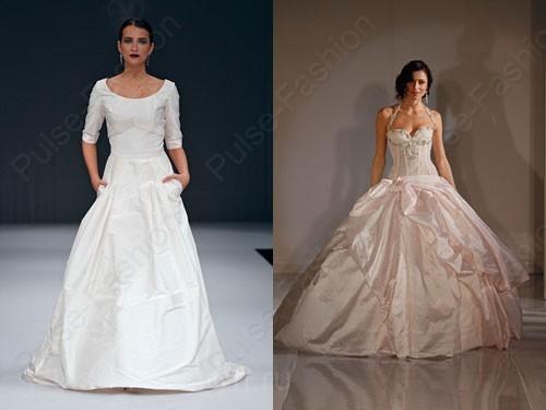 Трендовые свадебные платьица 2015