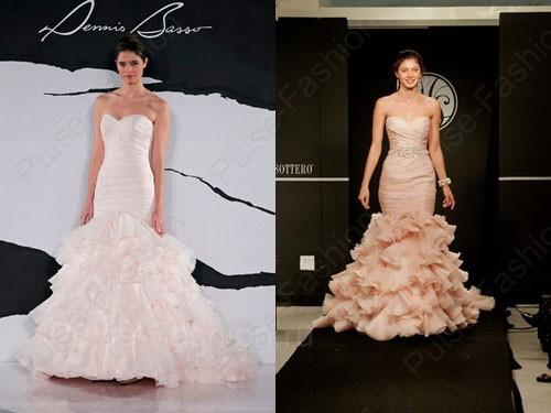 Трендовые свадебные платьица 2019