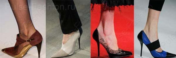 Модные и стильные туфли осень-зима 2017