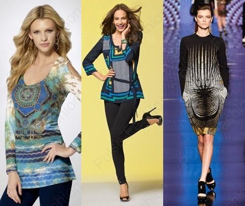 Модные и стильные туники осень 2017