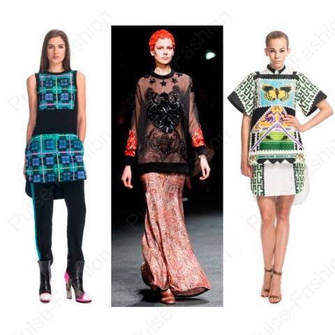 Модные и стильные туники осень 2019