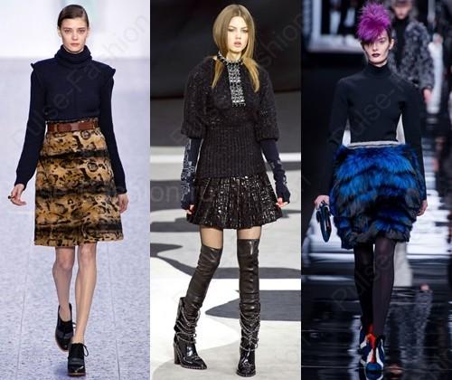 Трендовые юбки осень-зима 2015