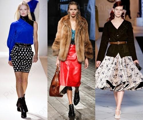 Трендовые юбки осень-зима 2021