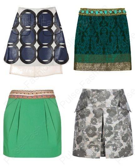 Самые недлинные юбки весна лето 2015