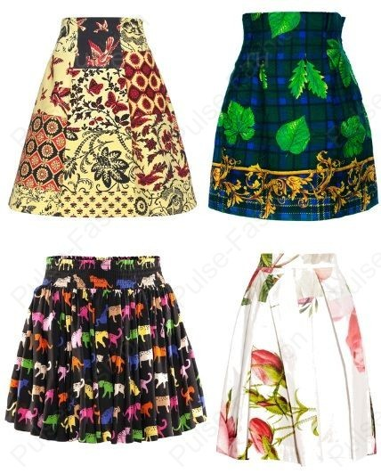 самые Модные и стильные юбки весна лето 2020