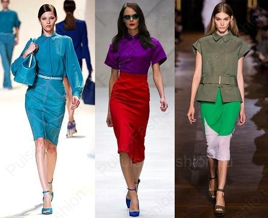 Модные и стильные юбки весна лето 2018