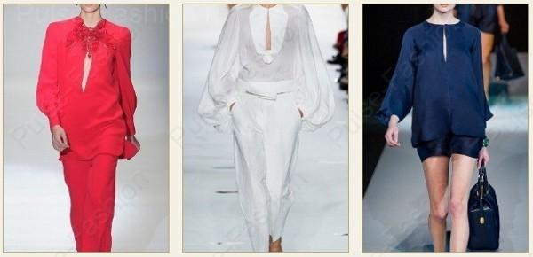 Стильные женские блузы 2018