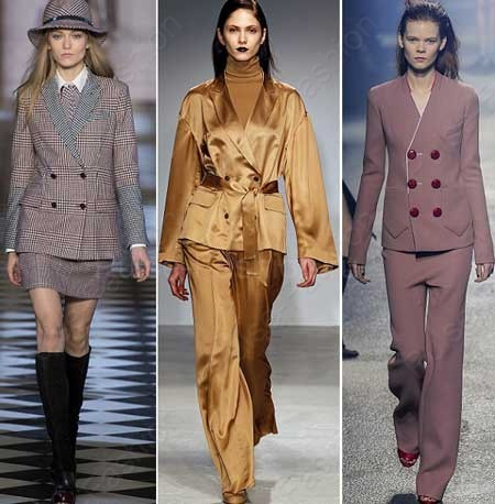 Модные женские костюмы осень-зима 2018