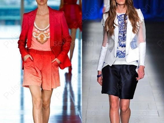 дамские пиджаки весна-лето 2018