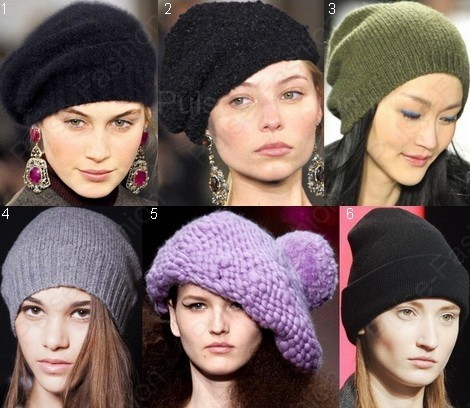 Стильные и модные шапки осень-зима 2019