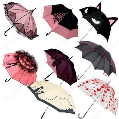 Модные зонтики лето 2018