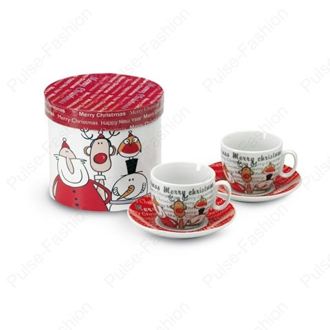 кофейные чашечки на новый год 2019
