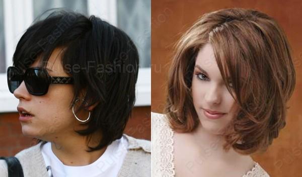 прически на средний волос фото