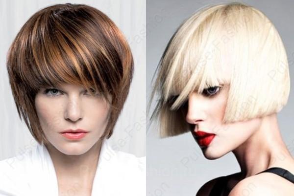 стрижки на средние волосы: каре и боб 2019