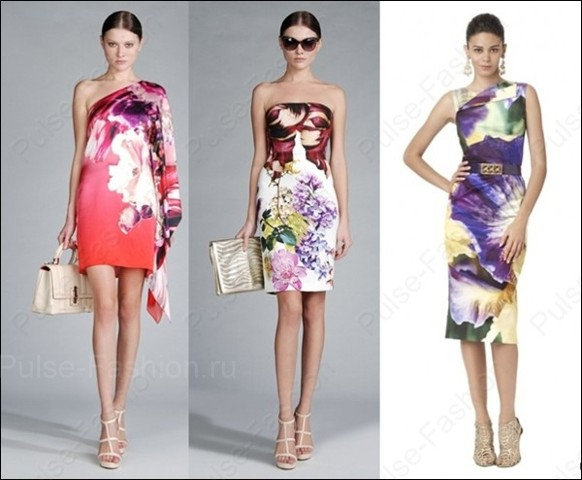 Модные и стильные платья лето 2017