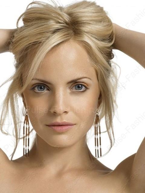 cвадебный мейкап для блондинок