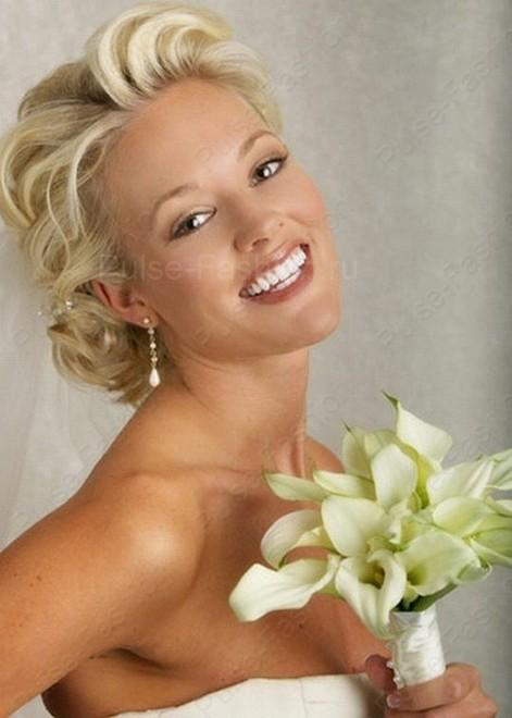 Свадебный мейкап для блондинок