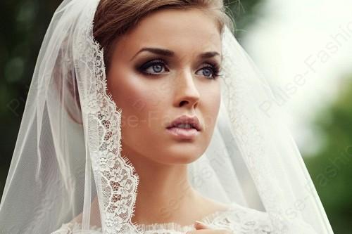 Свадебный мейкап для брюнеток