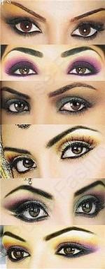 Свадебный мейкап для коричневых глаз