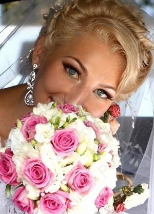 свадебный мейкап для зеленоватых глаз