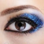 Вечерний мейкап для коричневых глаз