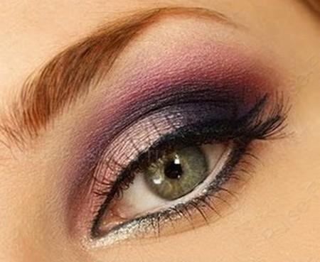 Вечерний мейкап для зеленоватых глаз