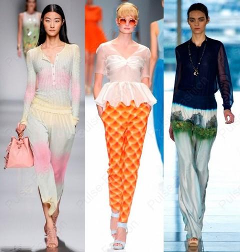 Модные женские штаны весна-лето 2019